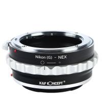 Bague Adaptatrice Nikon G/F/AI/AIS/D pour Boitier Sony E  K&f concept