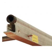 Monorails - 2 tubes de 0,3m - Rail Démontable Droit