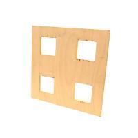 Plaque en CP 60x60 pour Faux Plafond