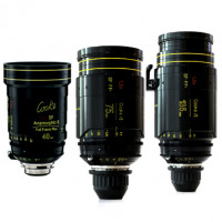 Série de 3 Optiques Cooke Anamorphic/i Full Frame Special Flare  Cooke