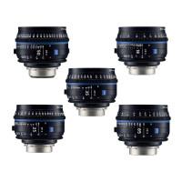 Série de 6 Optiques Compact Prime CP3