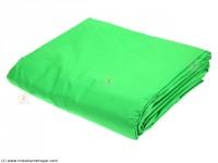 Fond vert 6x3m Guerriets