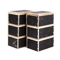 Lot de 6 Cubes 15x20x30