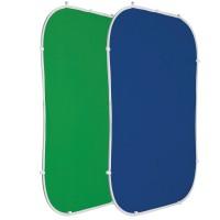 Chromakey vert/bleu 1,5x2m Flexdrop