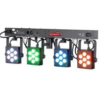 Barre LED 4x TriPAR