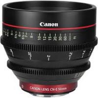 "Optique CNE 50mm T1.3 - CF: 18"""