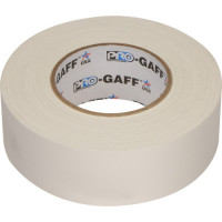 Gaffer 50x50mm BLANC