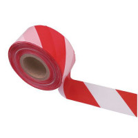 Rouleau de Rubalises Blanc et Rouge