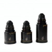 Série de 3 Optiques Orion 40mm / 65mm / 100mm Anamorphic Prime