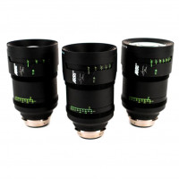 Série 3 Optiques Signature Prime - 25 / 47 / 125 mm T1.8 Arri