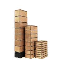 Série Cubes Marche Bois 5x20x30 / 10x20x30 / 15x20x30